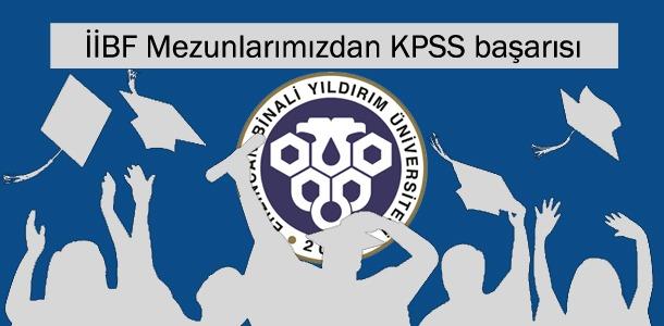 İİBF Mezunlarımızdan KPSS başarısı